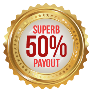 Superb 50% Payout
